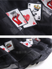 poker cards sheer skirt