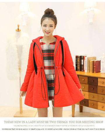 cherry pop thermal coat