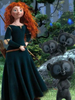 disney princess merida cosplay set