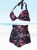 rose high rise swimwear set