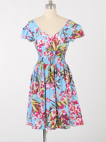 sunny morning floral dress
