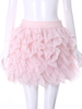 queen feathery skirt