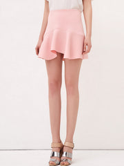streamline flouncing skirt
