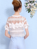 floral embroideries two pieces set