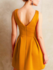 v neck grace dress