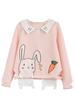 honey bunny embroidery top
