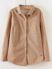 ultra-thickened plush checkered shirt