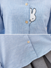 cartoon bunny cotton shirt