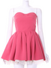 little honey strapless dress