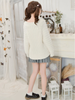 batwing thick knit sweater