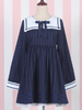 thinking of you navy dress