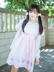 cherry blossom doll collar dress