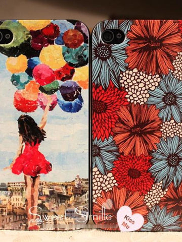 the girl with balloons iphone4/4S/5 cases
