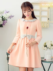 pale and pink temptations dress