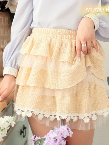 tiers in heaven ruffle skirt