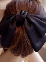 Korean fashion satin hair clip