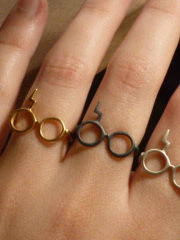 Harry Potter lightning ring
