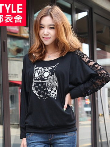 midnight owl t-shirt