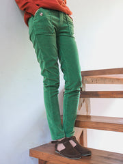 vintage corduroy pockets pencil pants
