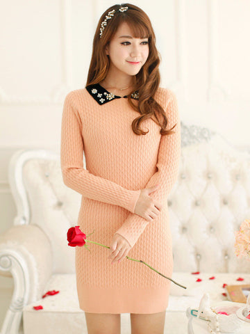 sugar sweet sweater dress