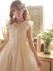 sweet buttercup lace dress