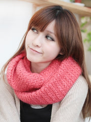 solid color infinity scarf