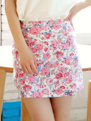 romantic rose skirt