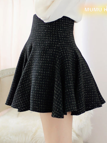 sweet disposition black skirt