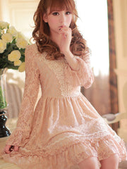 fairy princess lace dress