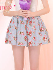 fresh flowers skirt