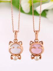 love kitten necklace