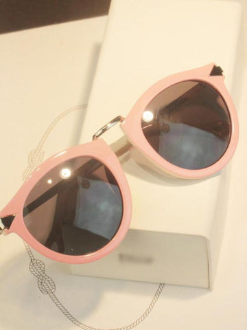 sweet pink black arrow sunglasses