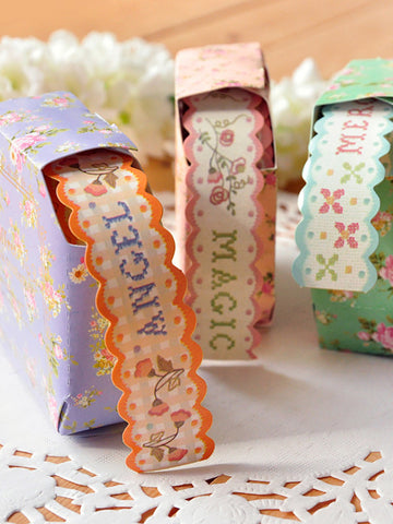 lace pattern decorative tapes