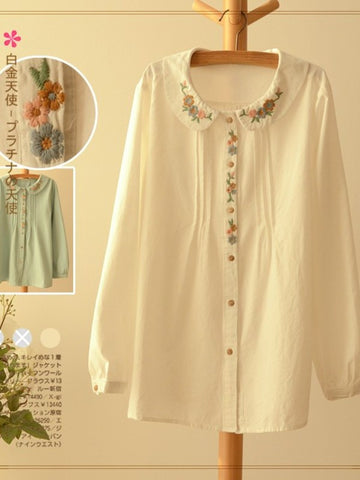 spring blossom cotton top