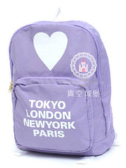 Harajuku tour double shoulder backpack