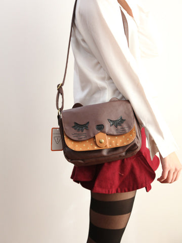 Japanese style sweet kitty purse