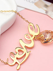 heart and love Necklace