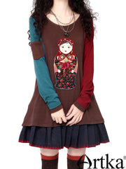 exotic matryoshka doll top