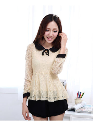 lace lover blouse