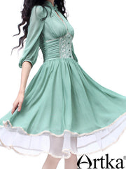 sea-through romantic dress