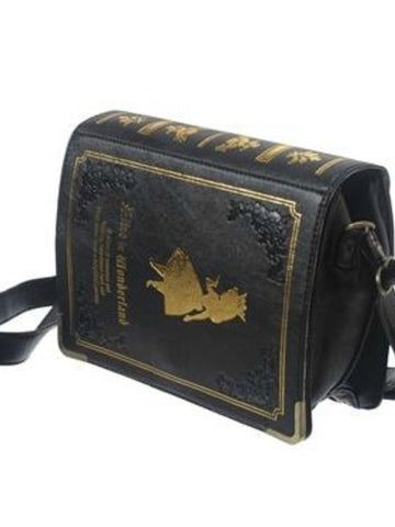 Japanese Lolita Alice in wonderland book purse