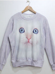 3D animal motifs sweatshirt