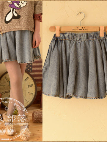 denim darling skirt
