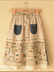 pocketed prairie skirt