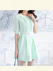 mint ice cream dress