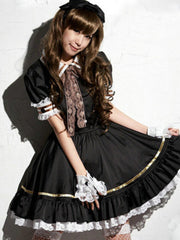 Lolita princess rose cosplay dress
