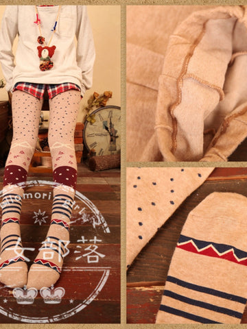 Mori girl winter leggings