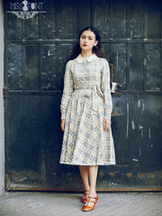 burberry print trench coat dress