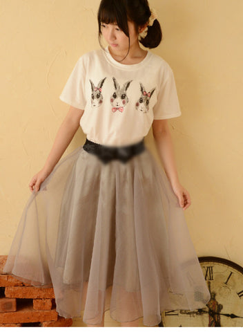 bunny hop shirt & skirt