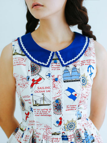 smooth sailing dress